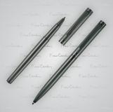Zestaw piśmienny długopis i pióro kulkowe RENEE Pierre Cardin z logo (B0400201IP377)