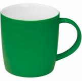 Kubek ceramiczny - gumowany z logo (8065409)