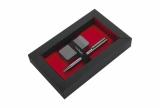Zestaw upominkowy zapalniczka elektryczna i długopis ELECTRIC SET Pierre Cardin z logo (B3501300IP377)