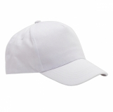 Czapka dziecięca Daily, biały z logo (R08714.06)
