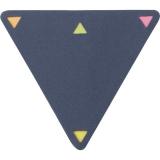 Zestaw do notatek trójkąt, karteczki samoprzylepne (V2985-11)