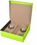 Zestaw 2 kieliszków do białego wina Vanilla Season PAPUA, 250 ml z logo (H5400100IP166)