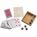 Gra w karty i kości z logo (5068701)