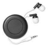 SONIDO Słuchawki zwijane z logo (MO8806-03)