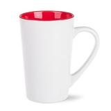Kubek FRESH 300 ml biały / czerwony (M103_AE_F0300_0000)