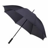 Parasol golfowy Baden, czarny z nadrukiem (R07946.02)