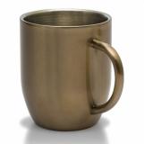 Kubek stalowy Dusk 350 ml, złoty  (R08342.79)