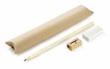 Komplet EKO (ołówek, gumka, temperówka) (19811)