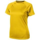Elevate Damski T-shirt Niagara z krótkim rękawem z tkaniny Cool Fit odprowadzającej wilgoć (39011105)