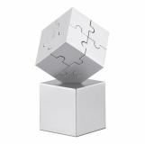 KUBZLE Magnetyczne puzzle 3D z logo (AR1810-16)