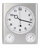 Zegar z higrometrem i termometrem (03033)