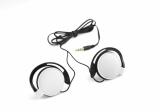 Słuchawki CLIP białe (09043-01)