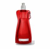 Składana butelka 420 ml z karabińczykiem (V6503-05)