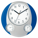 Zegar ścienny, stacja pogodowa (V3251-04)