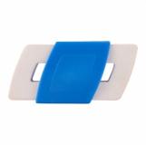 Gumka do zmazywania Slide, niebieski z logo (R64339.04)