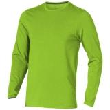 Elevate Męski T-shirt organiczny Ponoka z długim rękawem (38018680)