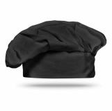 CHEF Bawełniana czapka szefa kuchni MO8409-03 z logo (MO8409-03)