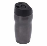 Kubek izotermiczny Edmonton 270 ml, grafitowy z grawerem (R08389.41)