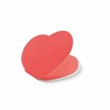 LOVE Notes samoprzylepny serce z logo (MO9216-05)