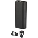 Avenue Metalowe słuchawki douszne TrueWirless z futerałem–power bankiem (10831400)
