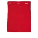 Świąteczny worek na prezenty, czerwony z logo (R89068)
