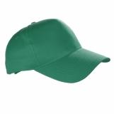 Czapka z daszkiem Coimbra, zielony z nadrukiem (R08720.05)