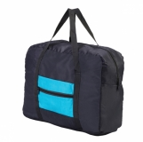 Składana torba Ansonia, niebieski z logo (R08688.04)