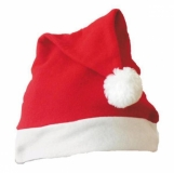 Dziecięca czapka świąteczna, czerwony/biały  (R89064)