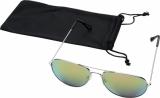 Okulary przeciwsłoneczne Aviator z lustrzanymi, kolorowymi soczewkami (10060106)