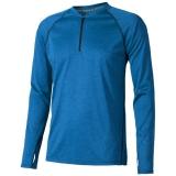 Elevate Męski T-shirt Quadra z długim rękawem z tkaniny Cool Fit odprowadzającej wilgoć (39023530)