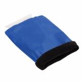 Skrobaczka do szyb z rękawicą, niebieski z logo (R17782.04)