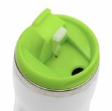 Kubek izotermiczny Askim 350 ml, zielony z logo (R08225.05)