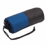 Ręcznik sportowy Sparky, niebieski z logo (R07979.04)