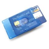Etui na kartę kredytową (V4376-11)