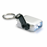 NADIO Mini latarka LED na dynamo z nadrukiem (KC6869-14)