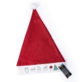 Zestaw do rysowania, czapka świąteczna (V7160-05)