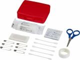 24-elementowy zestaw pierwszej pomocy Frederik w plastikowej walizce (12200704)