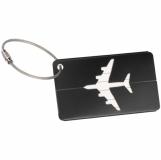 Aluminiowa zawieszka bagażowa z logo (9098703)