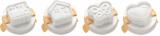 Foremki do formowania jajek PRESTO 4 szt. z logo (TS420658.0006)