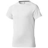 Elevate Dziecięcy T-shirt Niagara z krótkim rękawem z tkaniny Cool Fit odprowadzającej wilgoć (39012011)
