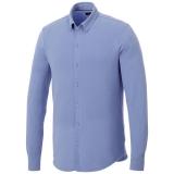 Elevate Męska koszula z długim rękawem o splocie pique Bigelow (38176406)