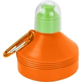 Składana butelka 600 ml z karabińczykiem (V7619-07)