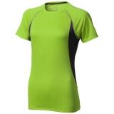 Elevate Damski T-shirt Quebec z krótkim rękawem z tkaniny Cool Fit odprowadzającej wilgoć (39016680)
