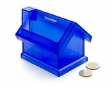 Skarbonka domek niebieska (20099-03)