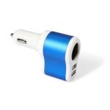 Ładowarka samochodowa USB, zapalniczka samochodowa (V3783-11)