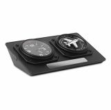 JET CLOCK Zegar z czasem światowym z logo (MO8618-03)