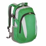 Plecak sportowy Visalis, zielony z nadrukiem (R08637.05)
