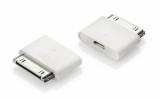 Adapter micro USB iP4 biały (45007)