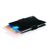 Minimalistyczny aluminiowy portfel, ochrona RFID (P820.461)