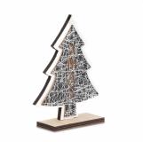 Choinka podświetlana ozdoba świąteczna Christmas tree, beżowy  (X91029.13)